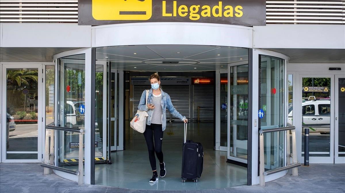 Espanya elimina la quarantena als turistes del Regne Unit