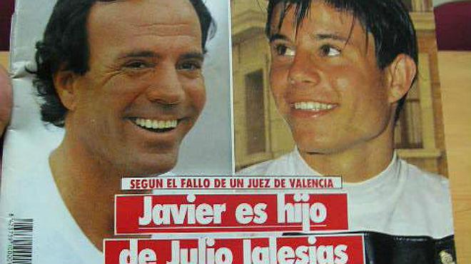 Javier Sánchez-Santos, noveno hijo de Julio Iglesias