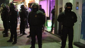 Desarticulado un grupo criminal que operaba en las zonas de ocio nocturno de Sitges.
