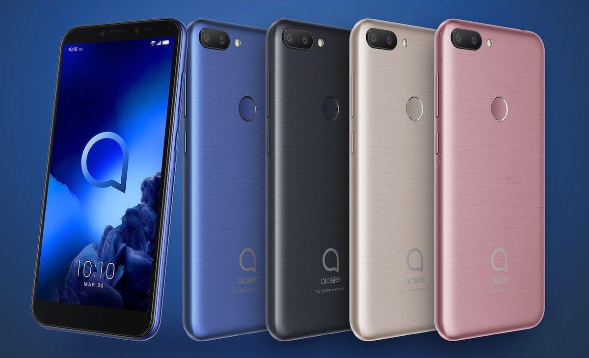 546581174d2c3 Alcatel presenta sus nuevos móviles de las series 1 y 3