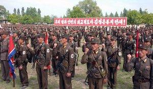 El ejército de Corea del Sur realizó una detención protocolaria sin incidentes.