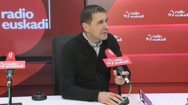 """Otegi apel·la als demòcrates espanyols per crear """"una aliança antifeixista"""""""