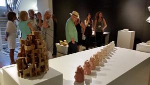 Arrenca la 19a Biennal de ceràmica d'Esplugues Angelina Alòs