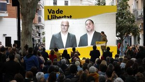 Els presos d'ERC i JxCat pugnen pel vot útil