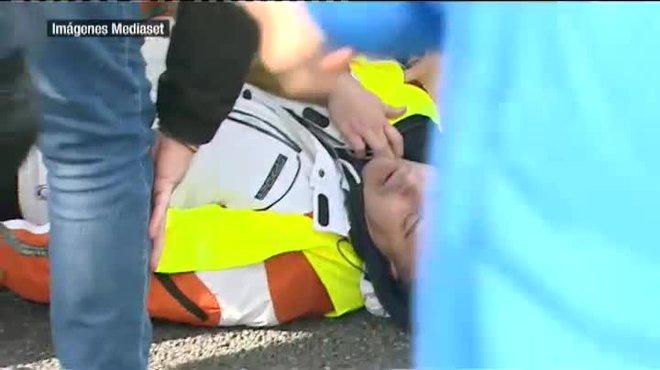 Ingressat a l'UCI el taxista atropellat per un VTC a l'A-2 de Madrid