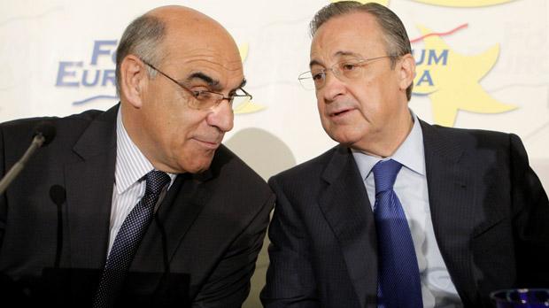 Florentino Perez i Salvador, en una imatge d'arxiu.