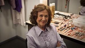 La actriz Julieta Serrano.