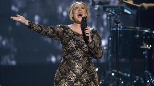 Adele, en una actuación en Nueva York en diciembre del 2015.