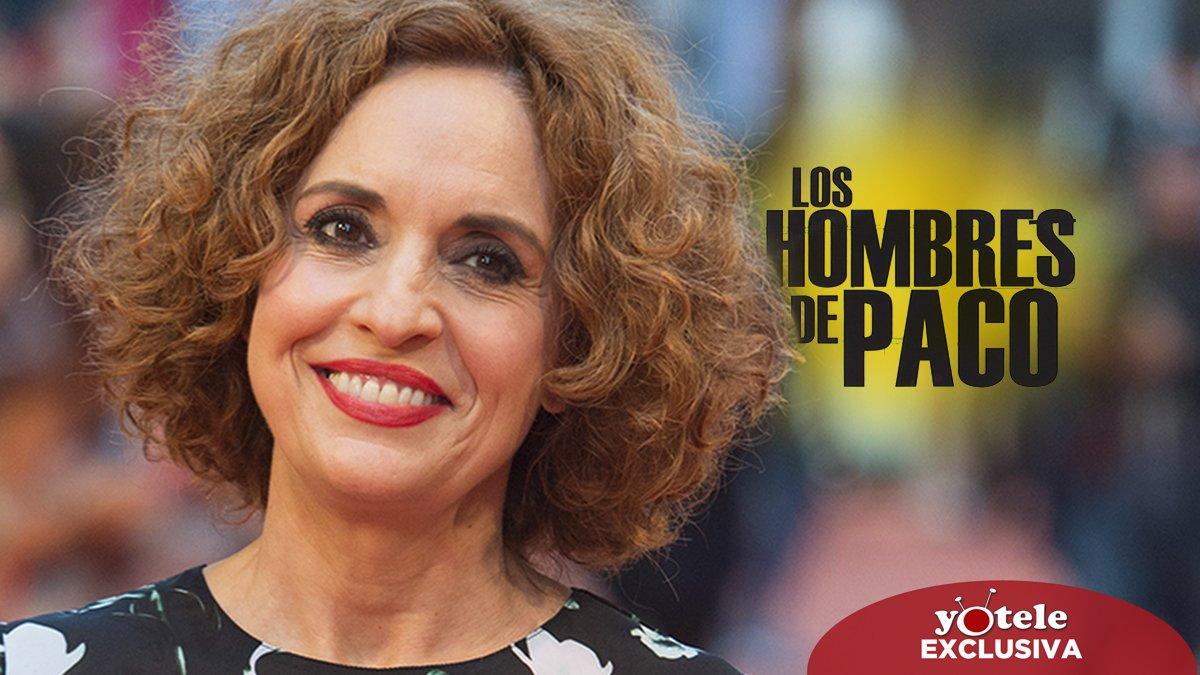 Adriana Ozores, de vuelta por sorpresa en lo nuevo de 'Los hombres de Paco' en Antena 3