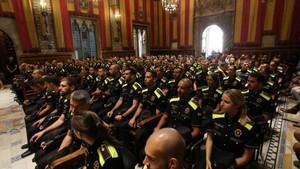 Un centenar de nous agents a la Guàrdia Urbana