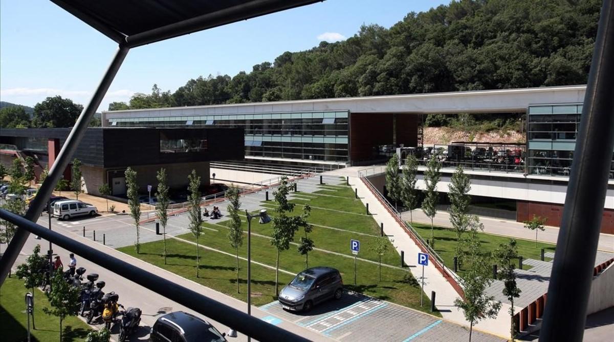 Instalaciones del Parc Científic de Girona.