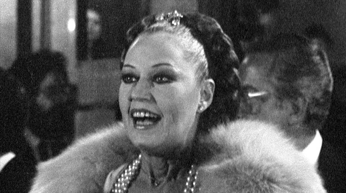 Analía Gadé, en 1987.