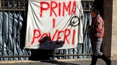 El débil crecimiento económico en Italia no llega al ciudadano de a pie