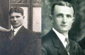 Antoni Arimon i Joan Brunat, alcaldes de Parets fusilados por el franquismo.
