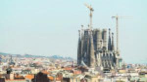 La basílica de la Sagrada Família, el monumento arquitectónico más emblemático en Catalunya