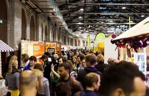 La feria Veggie World de Munich en el 2016.