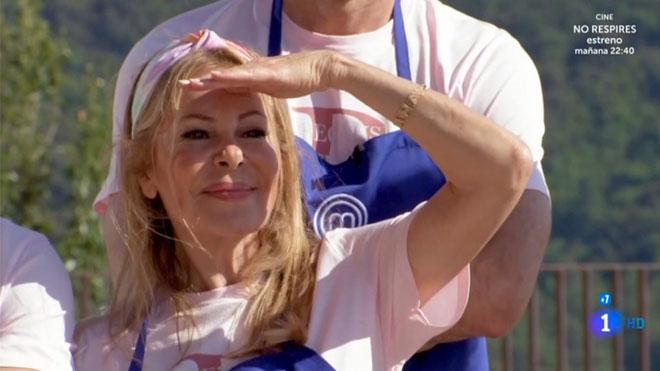Ana Obregón, abroncada en 'Masterchef celebrity'.