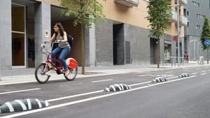 Calle Pere IV de Barcelona.