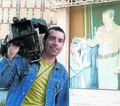El cámara José Couso, muerto en Irak en el 2003.