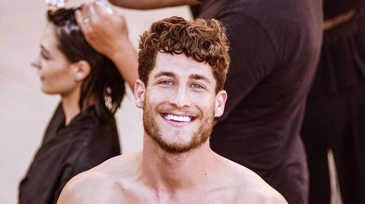 El canario Yeray Hidalgo, el hombre más guapo de España.