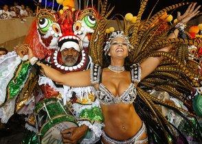 El Carnaval de Río es uno de los más populares festivales del mundo.