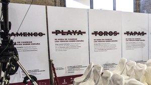 Carteles de la campaña publicitaria de los premios Rei Jaume I.