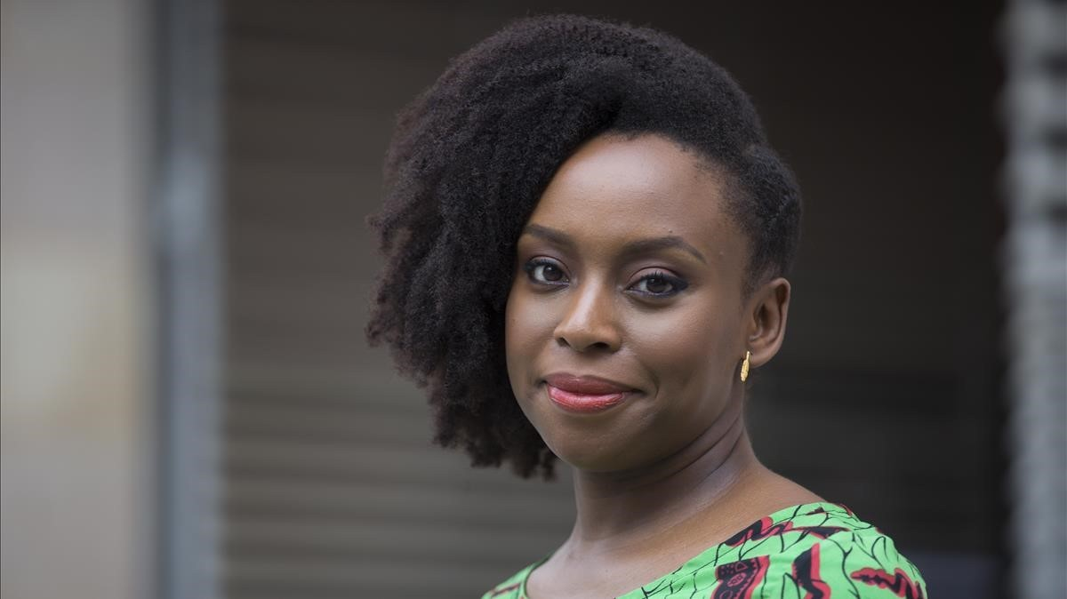 Chimamanda Ngozi Adichie en el CCCB.