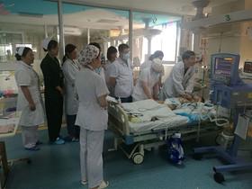 El equipo médico.