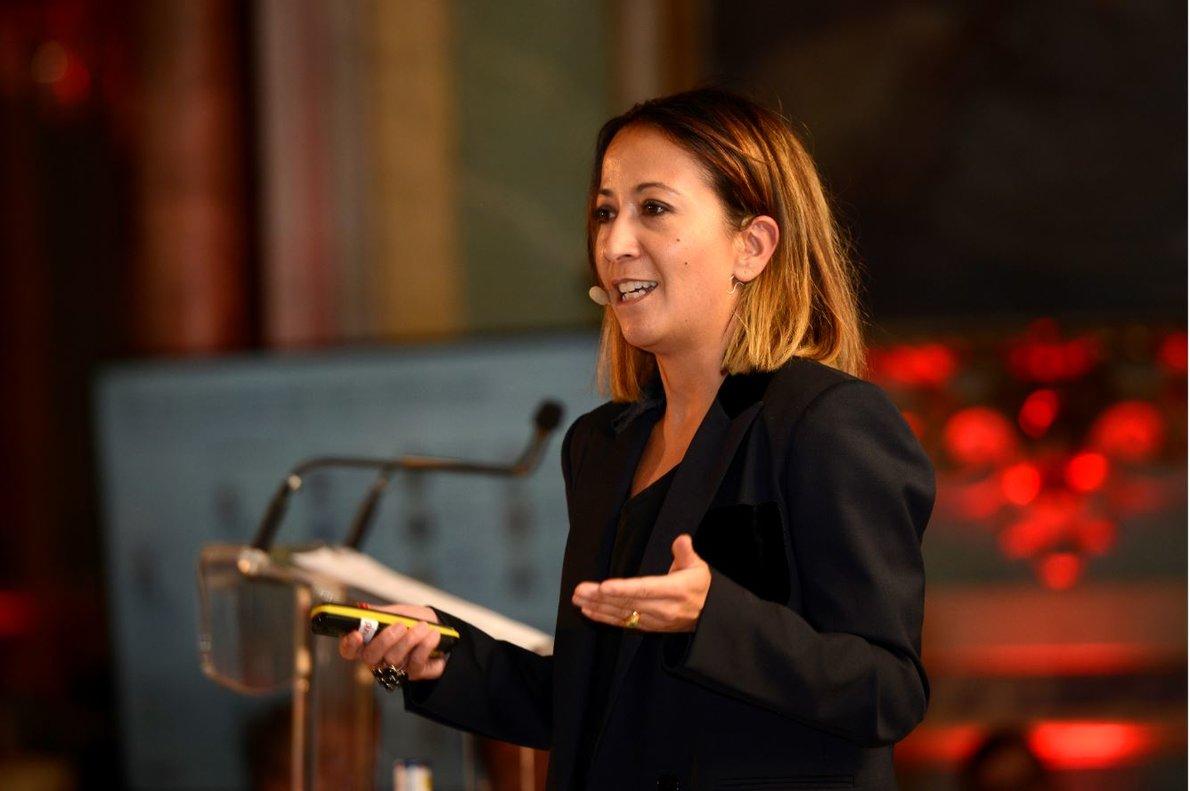 Christine Gugolz es directora de Estrategia de Negocio de Sostenibilidad e Inversión de Impacto de la gestora suiza UBS AM.