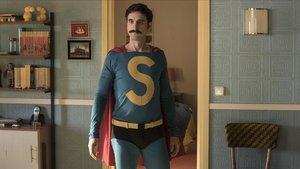 Dani Rovira en un fotograma de Superlópez, la película.