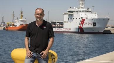 """David Noguera, presidente de MSF España: """"Cerrar los puertos significa más muertos"""""""