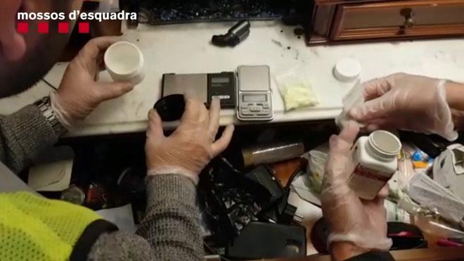 Desarticulado el primer narcopiso detectado en el distrito de Sant Martí.