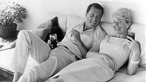 Doris Day con Rock Hudson.