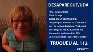 Los Mossos encuentran el cuerpo sin vida de María Ángeles.