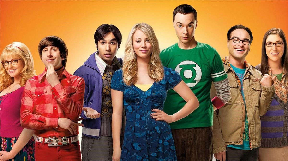 Los protagonistas de The Big Bang Theory.