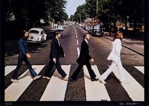 Els Beatles a Abbey Road.