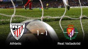 Empate (1-1) entre el Athletic y el Real Valladolid