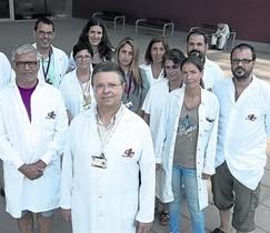 El equipo 8 Los miembros del Centro de Diagnóstico Genético Molecular (CDGM).