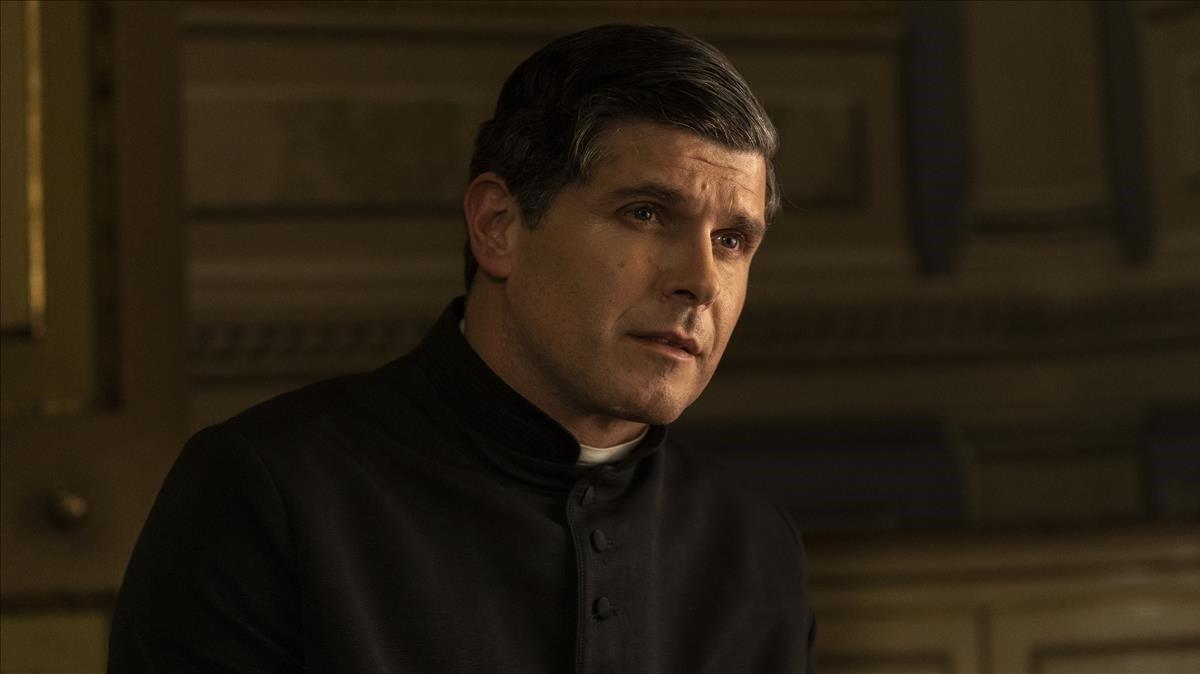 El actor Ernest Villegas, como Jacint Verdaguer en 'L'enigma Verdaguer'.