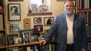 El escritor canadiense-argentino Alberto Manguel.