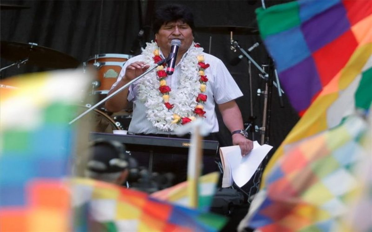 El Tribunal Electoral de Bolívia rebutja la candidatura a senador d'Evo Morales