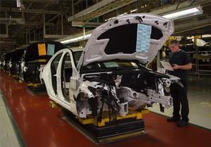 Fábrica de coches de Mercedes-Benz en Vance, Alabama, Estados Unidos.