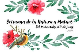 Cartel de la Semana de la Naturaleza de Mataró.