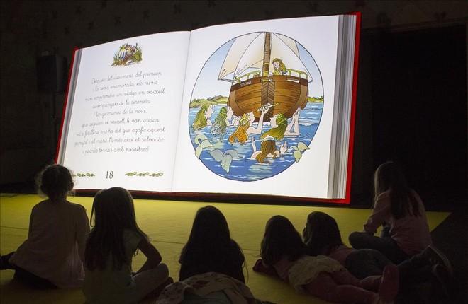 Una de las actividades de la pasada edición de Món Llibre.