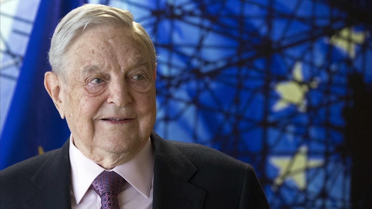 George Soros, en abril del 2017.