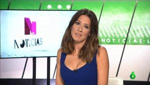 """El lapsus viral de Gloria Mena en 'LaSexta Noticias': """"La polla en Doña Manolita"""""""