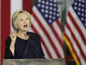 Hillary Clinton, en un discurso en Cleveland, el 13 de junio.
