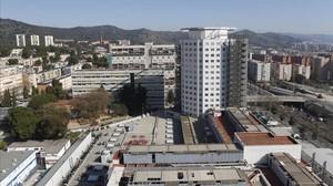 El Hospital de Vall dHebron, de Barcelona.