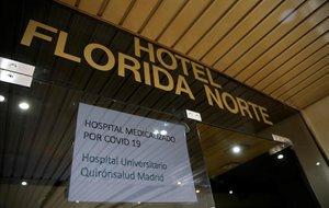 Hotel City House, en Madrid, sanitarizado para la recuperación de pacientes de coronavirus.