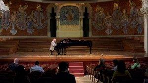 Albert Guinovart toca, el día 11, en el Palau en el acto de presentación de la temporada.